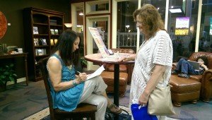 Donna Book Signing